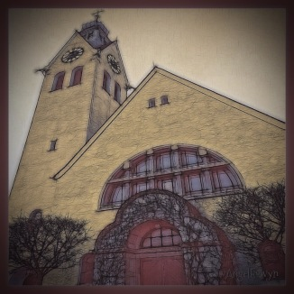 PhotoFades | Haunstetten Church