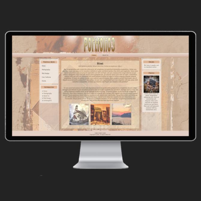 Web Design | Portfolio3